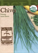 Lake Valley 639 Organic Chives Heirloom Seed Packet - $6.99