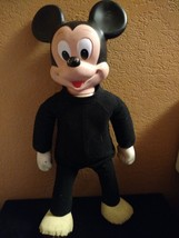 """Vintage Hasbro Walt Disney MARCHING MICKEY MOUSE Toy Walking 18"""" Doll Toy - $25.00"""