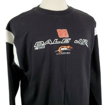 Dale Earnhardt Jr Nation #88 NASCAR Long Sleeve T-Shirt XL Black Cotton ... - $17.99