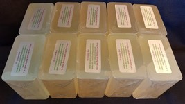 10 lb CLEAR MELT AND POUR SOAP Glycerin Base 100% All Natural Bulk Wholesale - $41.95