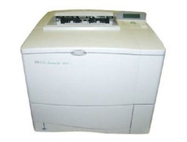 HP LaserJet 4050 Monochrome Laser Printer C4251A with a Network Card REF... - $102.33