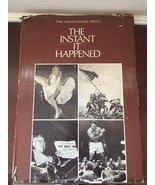 The Instant It Happened Hardcover Book 1976 - $29.92