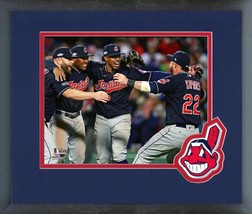Cleveland Indians Celebrate Winning the 2016 ALDS - 11x14 Matted/Framed Photo  - $42.95