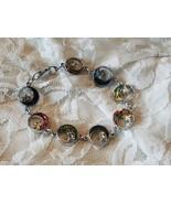 Mutlicolor Cresent Moon Bracelet - $4.50
