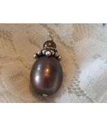 Small Black Pearl Pendant - $5.50