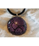 Purple Glass Pendant - New and Never Worn - $12.50