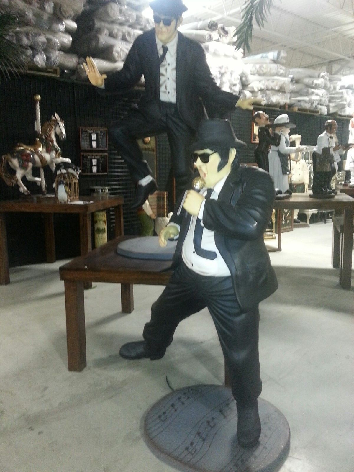 Primary image for Jake & Elwood Blues Pair Life Size Blues Buddies Movie Quality Memorabilia!