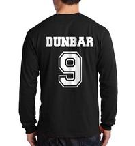 Dunbar 9 Liam Beacon Hills Lacrosse Back Only Longsleeve Men Black - $21.00