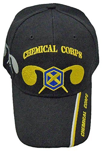 Primary image for Army Chemical Corps Cap and Bumper Sticker Baseball Hat Mens Womens Corp Black