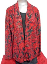 JM Collection Black & Red Size L Two piece atta... - $23.33