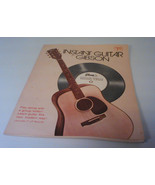 "Instant Guitar by Gibson Book with 7"" LP Record - $99.00"