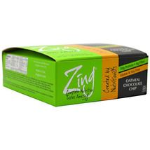 Zing Bar - Oatmeal Chocolate Chip - 12 Bars - $34.50
