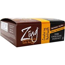 Zing Bar - Dark Chocolate Hazelnut - 12 Bars - $34.50