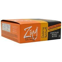 Zing Bar - Chocolate Peanut Butter - 12 Bars - $34.50