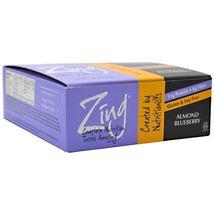 Zing Bar - Almond Blueberry - 12 Bars - $34.50