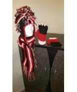 Atlanta Falcons Inspired Handmade Crochet Mohaw... - $70.00