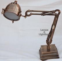 Vintage Art Deco Desk Lamp Specialty Gooseneck ... - $99.00