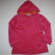 Gymboree Sunflower Smiles Corduroy Hooded Jacket Coat S 5 6 - $24.34