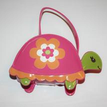 Gymboree Growing Flowers Turtle Purse Bag 3 4 5... - $14.86