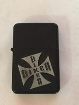 BIKER FLINT LIGHTER - ONE LIGHTER WITH RANDOM COLOR AND DESIGN (style5)