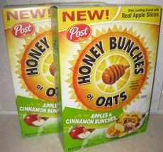 Post Honey Bunches of Oats with Real Apples & Cinnamon Bunches 14.5oz 41... - $15.83