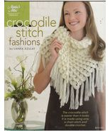 Crocodile Stitch Fashions Crochet Patterns Shaw... - $6.99