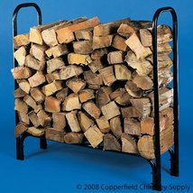 Chimney 10804 Small Log Rack Holds 1/4 Cord - $65.10