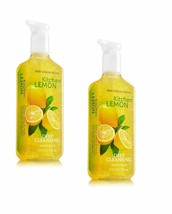 Bath and Body Works Deep Cleansing Hand Soap Kitchen Lemon 8 fl. oz. Lot... - $15.90