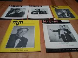 5 MUM Magic Magazines Magic Unity Might 1975-1979 - $11.88