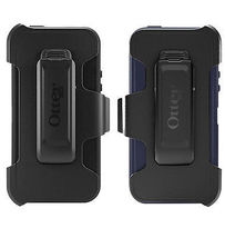 OtterBox Defender Series Protective Case for Apple iPhone 5/5s/SE Black/Blue - $30.00