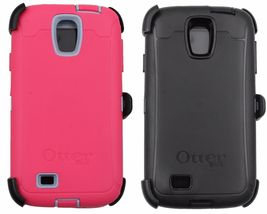 OtterBox case Samsung Galaxy S4 Defender Series With Belt Clip Black Or Pink - $20.00