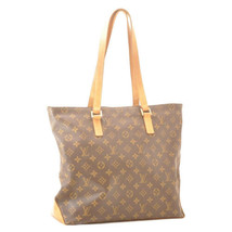 LOUIS VUITTON Monogram Cabas Mezzo Tote Bag M51151 LV Auth 11849 - $398.00