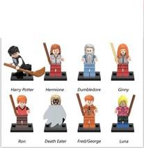 8pcs Harry Potter Hermione Jean Granger Ron Weasley Lord Voldemort Fit L... - $15.50