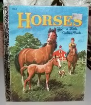 Horses Little Golden Book Thirteenth Printing 1980 - $7.99