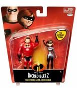 new Incredibles 2 Elastigirl & Mr Incredible Action Figure 2-Pack Disney... - $13.72