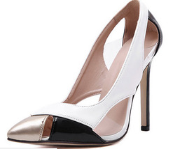 pp188 Cutie pointy pump in spell color,size 35-40, white - $78.80