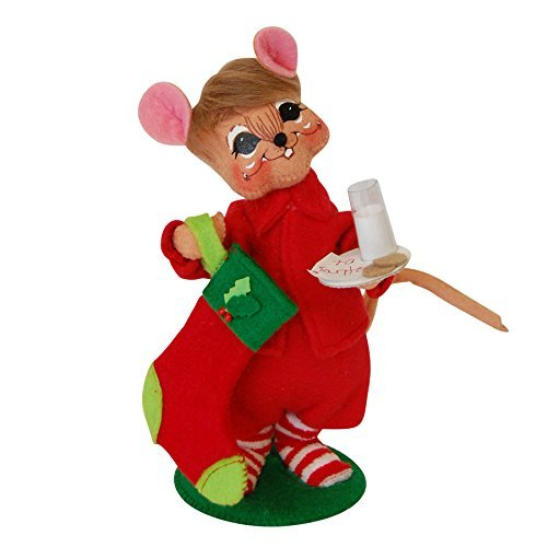 Annalee - 6in Milk & Cookies Mouse