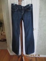 White House Black Market Noir Flare Cut Jeans - 6R - $19.99