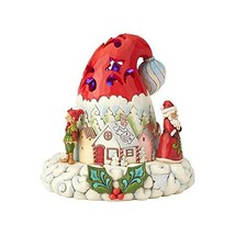 "Enesco Jim Shore Heartwood Creek Lighted Santa Hat, 7.25"" Figurine - $80.69"
