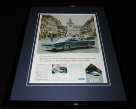 1966 Ford XL Switzerland Framed 11x14 ORIGINAL Vintage Advertisement - $44.54
