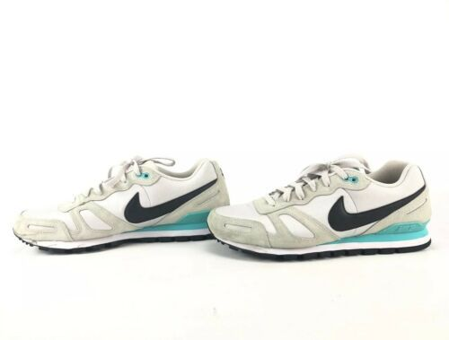 Nike Air Waffle Trainer Running Shoes 429628-032 Beige/Turquoise Men's Size 11