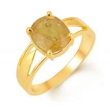 5 carat Ceylon Yellow Sapphire Adjustable Ring Georgia - $100.00