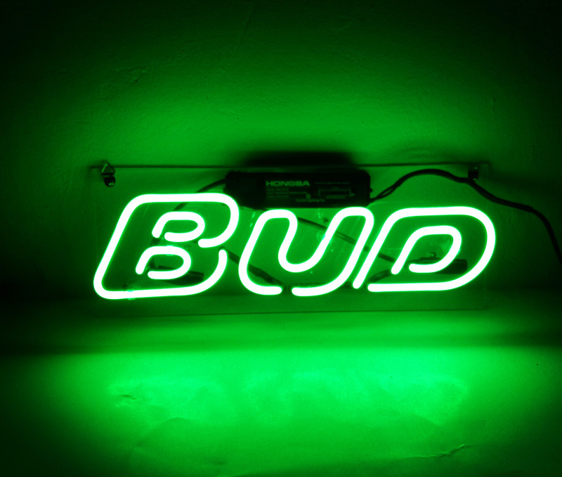 Bud Budweiser Budlight Neon Sign 14