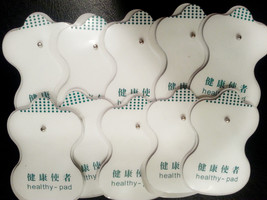 Electrode Pads (10) for Digital Massage / HEALTH HERALD / Electrotherapy... - $14.84