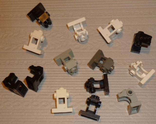 LEGO Parts lot of 14 Space Control Panel, mixed colors