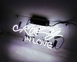"""Crazy In Love Neon Sign 16"""" x 4"""" image 2"""