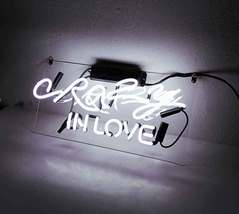"""Crazy In Love Neon Sign 16"""" x 4"""" image 4"""