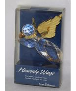 """Roman Heavenly Wings Angel Sun Catcher/Ornament 3 ¼"""" x 3"""" Gold Rope for ... - $6.99"""