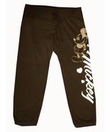 Disney Capri Pants Mickey Mouse Capri Pants Black and Gold Junior women'... - $29.99
