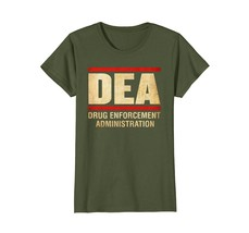 Drug Enforcement Administration Shirt DEA Agent T-Shirt - $19.99+